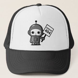 Mini Robot (Error 404) Trucker Hat