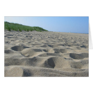 Mini sand dunes II Card