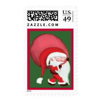 Mini Santa - The Cutest Santa Ever! Stamps
