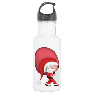 Mini Santa - The Cutest Santa Ever! Water Bottle