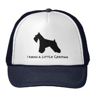 Mini Schnauzer Cap Trucker Hat