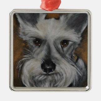 Mini Schnauzer Design No.2 Metal Ornament