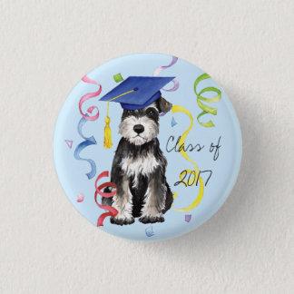 Mini Schnauzer Graduate Pinback Button