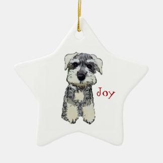 Mini Schnauzer Joy Ornament