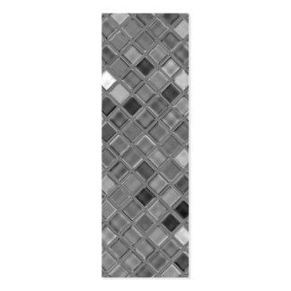 Mini señales de la impresión de cristal de la teja tarjeta de visita