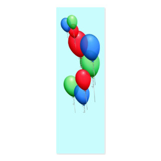 Mini señales Repurposed de los globos Tarjetas De Negocios