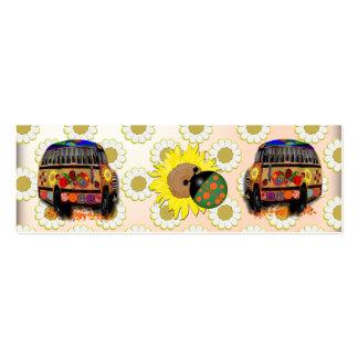 Mini señales plantillas de tarjetas de visita