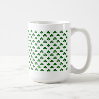Mini shamrocks coffee mug for St. Patrick's Day