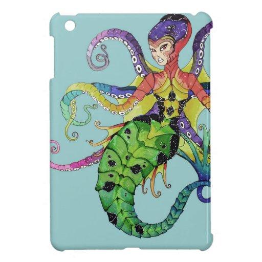 mini sirena del pulpo del caso del iPad iPad Mini Carcasa
