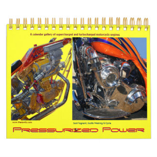 Mini size Turbo'd & S-Charged Motorcycle engines Calendar