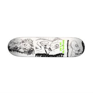 Mini skateboard Designed by Mystery Revolver