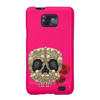 Mini Skeletons Sugar Skull Galaxy SII Covers