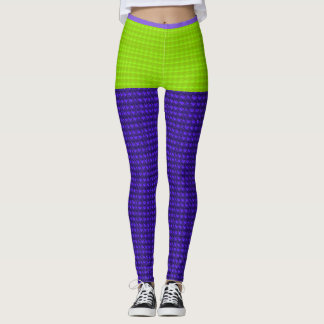 Mini-Skirt*-Lime_Purple-Tweed(c)_XS-XL_Leggings_ Leggings