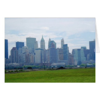 Mini Skyline (blank greeting card) Card