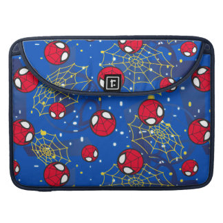 Mini Spider-Man and Web Pattern MacBook Pro Sleeve