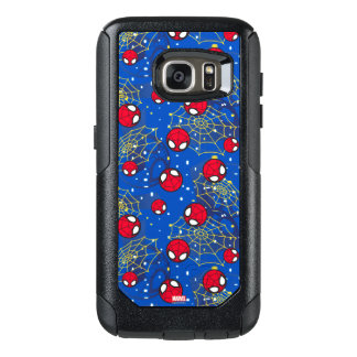 Mini Spider-Man and Web Pattern OtterBox Samsung Galaxy S7 Case