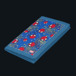 """Mini Spider-Man and Web Pattern Tri-fold Wallet<br><div class=""""desc"""">Spider-Man 
