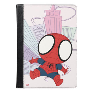 Mini Spider-Man & City Graphic iPad Air Case