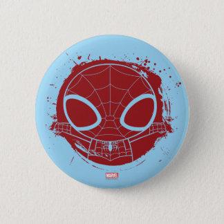 Mini Spider-Man Grunge Graphic Button