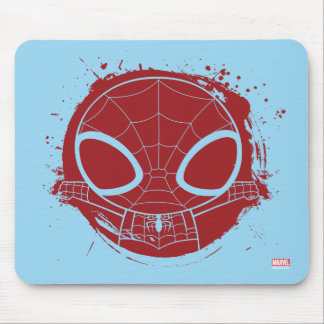 Mini Spider-Man Grunge Graphic Mouse Pad