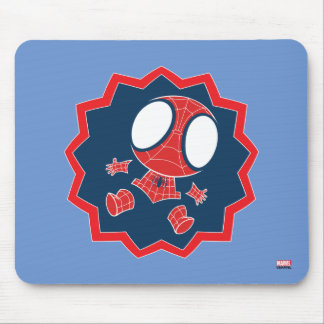 Mini Spider-Man in Callout Graphic Mouse Pad