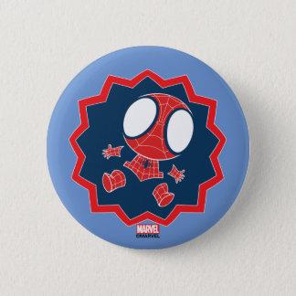 Mini Spider-Man in Callout Graphic Pinback Button
