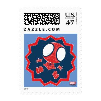 Mini Spider-Man in Callout Graphic Postage