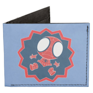 Mini Spider-Man in Callout Graphic Tyvek Wallet