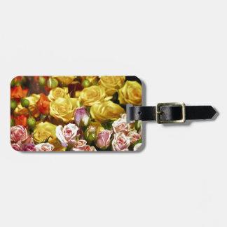 Mini Spray Roses Bag Tag