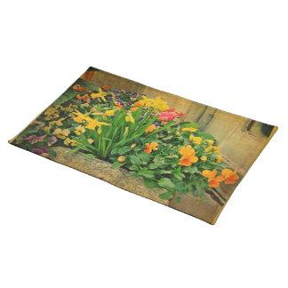 Mini Springtime Garden Placemats
