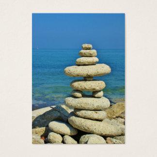 Mini Stone Stack Design Business Card