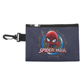 Mini Stylized Spider-Man in Web Accessory Bag