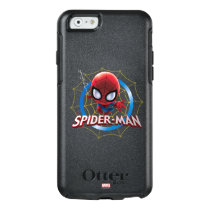 Mini Stylized Spider-Man in Web OtterBox iPhone 6/6s Case