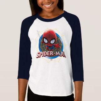 Mini Stylized Spider-Man in Web T-Shirt