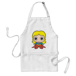 Mini Supergirl Delantal