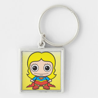 Mini Supergirl Keychain