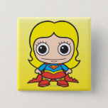 Mini Supergirl Pinback Button