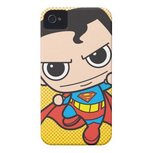 Mini Superman Flying iPhone 4 Case