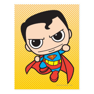 Mini Superman Flying Postcard