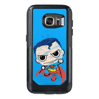 Mini Superman Sketch - Flying OtterBox Samsung Galaxy S7 Case