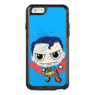 Mini Superman Sketch OtterBox iPhone 6/6s Case