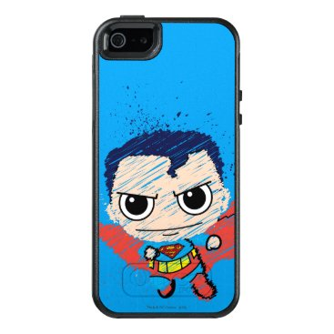Mini Superman Sketch OtterBox iPhone 5/5s/SE Case