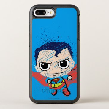 Mini Superman Sketch OtterBox Symmetry iPhone 8 Plus/7 Plus Case