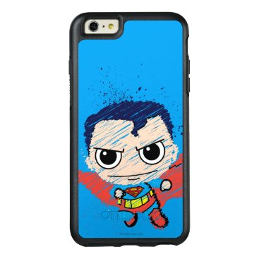 Mini Superman Sketch OtterBox iPhone 6/6s Plus Case