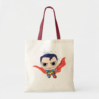 Mini Superman Sketch Tote Bag