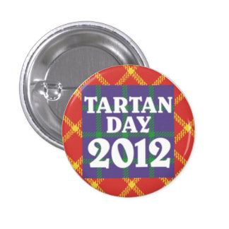Mini Tartan Day 2012 Button