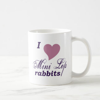 Mini taza de los conejos del Lop