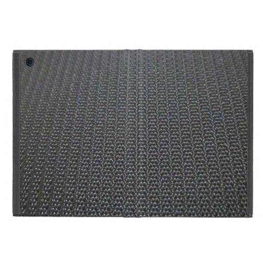 mini textura gris del ipad iPad mini fundas