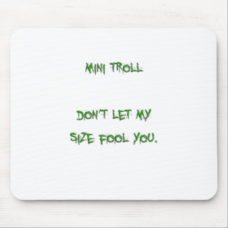 mini troll mouse pad