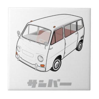 Mini Van - Custom Color Ceramic Tile